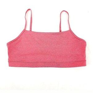 Womens Nike Take 2 Pink Sports L Top